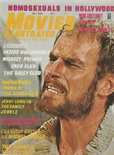 MOVIES ILLUSTRATED OCT. 1965-CHARLETON HESTON THE AGONY AND THE ECSTACY COVER