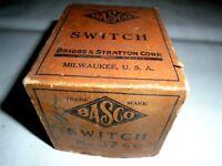 10'S 20'S BRASS ERA PIERCE ARROW GM PACKARD SWITCHES (3) BASCO# 37669 NEW IN BOX