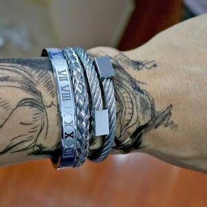 Pure Copper Magnetic Bracelet Bangle Arthritis Pain Relief Wrist Carpal Tunnel