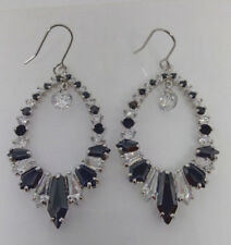 Formal/Wedding Chandelier Clear  And Black Crystal  Earring