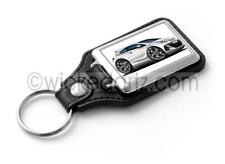 WickedKarz Cartoon Car Vauxhall Astra MK6 VXR in White Key Ring