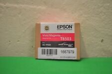 T8503 Vivid Magenta Tinta Original original de Epson SureColor SC-P800 80 Ml fecha 2017