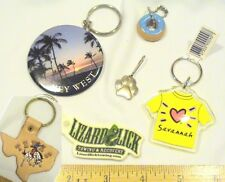 Keychains / Fobs Vintage Lot of 6