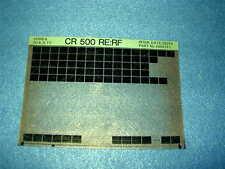 Honda CR500 re rf CR 500 re rf Gen Piezas catálogo Microfichas