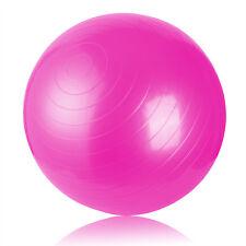 75cm Exercise Ball Pilates Balance Yoga Gym Fitness Aerobic Abdominal Strength