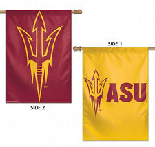 "Arizona State University Sun Devils 2 Sided House Flag Ncaa Licensed 28"" x 40"""