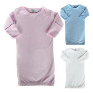 Baby Nightie Layette Night Gown Bundler Sleepsuit Newborn Baby Nightwear Cotton
