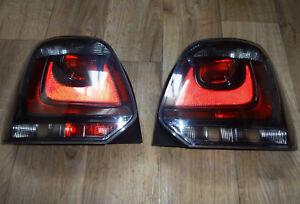VW POLO 6R Klarglas Rückleuchten (Schwarz / 2009-2014)