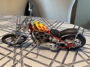 Franklin Mint 1:10 Easy Rider Harley Davidson Chopper The Billy Bike