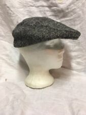 Vintage CABBIE FLAT CAP Newsboy Gatsby Golf Ivy league Driving 7-7 1/8 medium