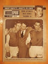 Miroir-Sprint N° 829 du 23/4/1962-Lira espoir du rugby Français-Kopa & Piantoni