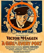 A Girl In Every Port - 1928 - Louise Brooks Victor McLaglen Pre Code Silent DVD