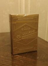 VERY RARE New Gold Monarch Playing Cards - Theory 11 Sealed