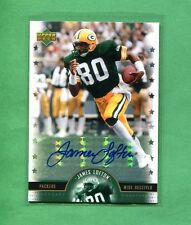 JAMES LOFTON GREEN BAY PACKERS 2005 UPPER DECK LEGENDS AUTOGRAPH SIGNATURE CARD