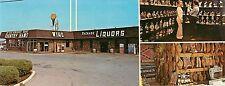c1960s I-65 Liquor Store/Country Hams, Bowling Green, Kentucky Panorama Postcard