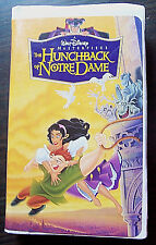 The Hunchback of Notre Dame - Walt Disney Masterpiece Collection VHS, 1997 #7955
