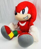 Sonic The Hedgehog Knuckles Stuffed Plush Toy 16""