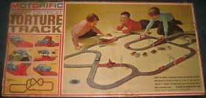 Ideal Motorific Giant Detroit Torture Track Set -No Car