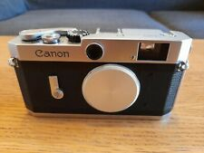 Canon P 35mm Rangefinder Film Camera