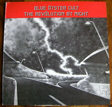 BLUE OYSTER CULT LP THE REVOLUTION BY NIGHT / CBS HOLLAND 1983