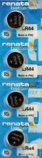 4 x Renata LR44 AG13 357 303 alkaline 1.55v watch batteries Free UK shipping