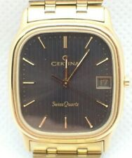 New Old Stock Certina Quartz Men's Wrist Watch with NSA original band no buckle