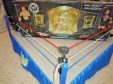 WWE Raw Spinning Championship Belt Jakks John Cena vs Rob Van Dam MOC/BNIB