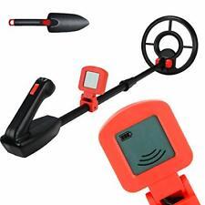 Hengda Leichter Metalldetektor für Kinder, Profi-Detektor mit (Rot)