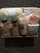 Body Nature Aromatherapy Seven Piece Honey Ginger Bath Set - NOT CONTAINER