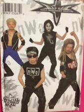 Simplicity Sewing Pattern 8887 Childs Boys WCW Wrestling Size 7-14 Uncut