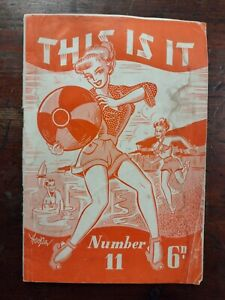 Vintage c1950 This Is It Magazine - Jokes, Anecdotes and Cartoons - No:11