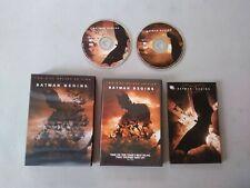 """BATMAN BEGINS""   -   Deluxe Edition + DC Comic Book  -   DVD  -   2005"