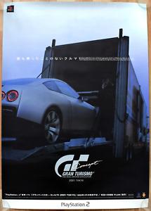 Gran Turismo: Concept RARE PS2 51.5cm x 73cm Japanese Promotional Poster