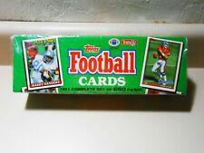 Vintage Topps Football Cards 1991 Complete Set Yt1