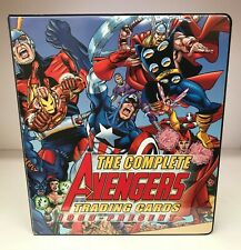 Complete Avengers - Trading Card Binder Album & 3 Promo, 1 Auto Cards - 2006