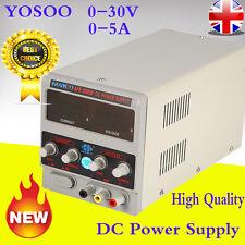 Adjustable 0-5A 0-30V DC Power Supply Precision Variable Digital Voltage Current
