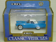 ERTL - FORD THUNDERBIRD COUPE 1957 BLEU