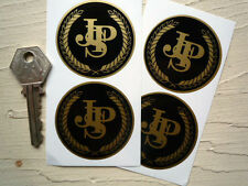 JPS Black & Gold Stickers 50mm Set of 4 Lotus John Player Special Race Car