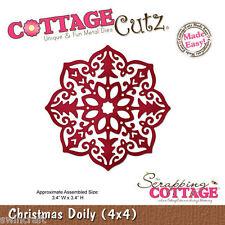 Cottage Cutz Corte Die incl. Servilleta De Espuma De Liberación De Navidad-CC4x4-282 * *