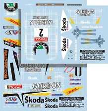 DECALS 1/24 SKODA FABIA S2000 #2 DUVAL -RALLYE IRC D'YPRES 2009 - COLORADO 24163