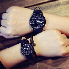 Student Fashion Trend Math Dial Lovers Watch