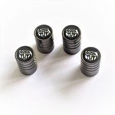 LEGA di Titanio Premium Polvere Tappi con trasformatore LOGO d'argento-Set di 4