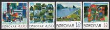 Faroe Islands Mnh 2001 Sg414-8 Paintings