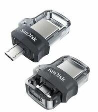 SanDisk 32GB 64GB 128GB 256GB OTG m3.0 Ultra Dual Drive Usb lot Memory Stick