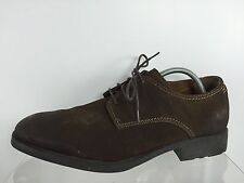 Hush Puppies Mens Brown Leather Shoes 15 M