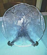 Kosta Boda Sweden Platter Scandinavian Art Glass