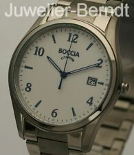 Boccia Titanium Herren Quarz Uhr mit Titanarmband 3562-04 !! NEU !!