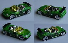 Hot Wheels - Trak-Tune grün transparent