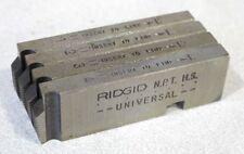 "Ridgid 47760 Universal Pipe Threading Dies 1/4""-3/8"" NPT HS - RH"