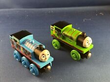 THOMAS & FRIENDS WOODEN RAILWAY LEARNING CURVE OIL DIRTY PERCY MINT LOOSE